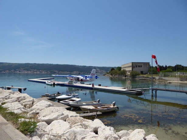Seaplane near Split -  a breakthrough in travel connections