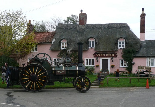 The Sorrel Horse in Shottisham