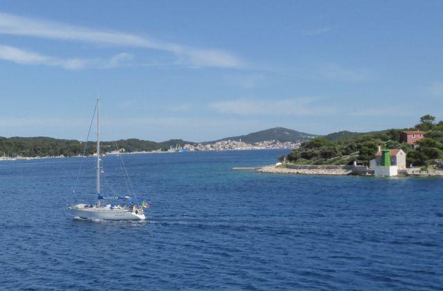 CLS Summer School 18 - Goodbye Mali Losinj From The Ferry To Zadar